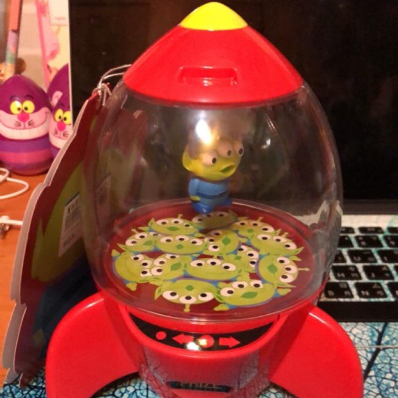 @JenniferNN 迪士尼 三眼怪 糖果罐 火箭筒 擺飾 裝飾品 收納罐