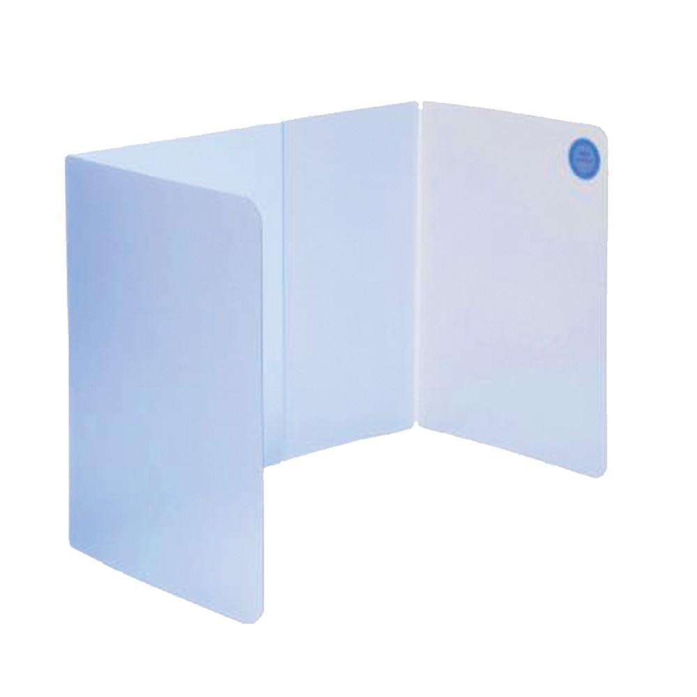 連勤LAN CHYN 防疫隔板 透明藍 用餐隔板 隨身防疫隔板 高35cm (LC-1901)