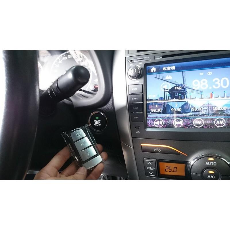 (翔欣汽車音響)TOYOTA ALTIS 10代安裝KEYLESS系統(免鑰匙,一鍵啟動)