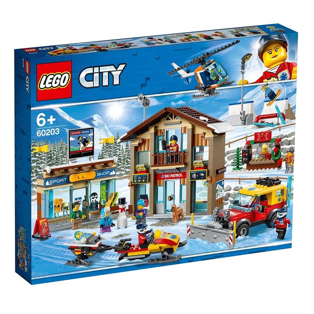 Costco 好市多 【LEGO 樂高】 城市系列 滑雪場 60203