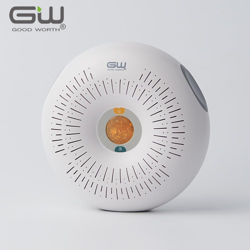 【GW 水玻璃】甜甜圈 分離式除濕機 1入(不含還原座)