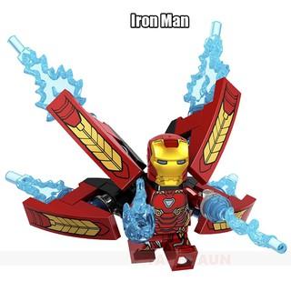 與 Lego MiniFigures Avengers Endgame 美國隊長漫威鐵蜘蛛俠 28 FX Mark Th