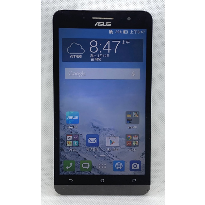 二手 ASUS 華碩 ZenFone 6 (白 3G/6吋/16GB)