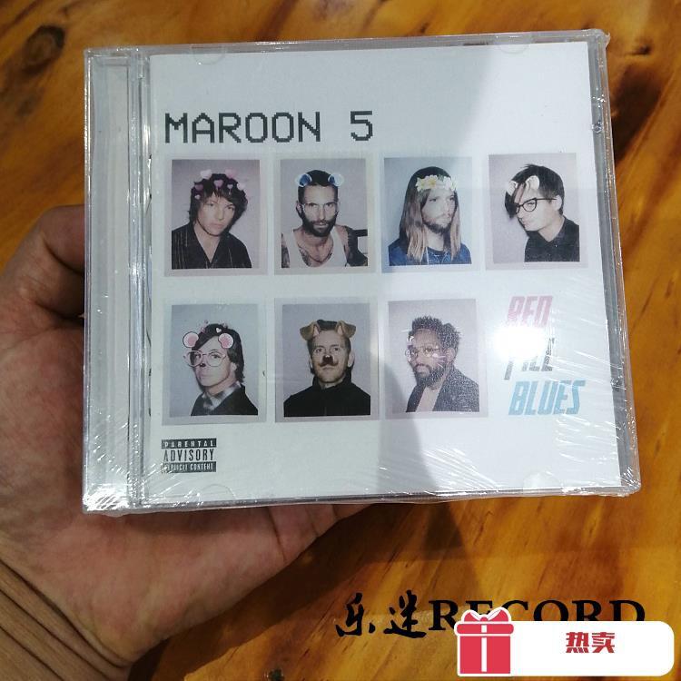 😘CD唱片 魔力紅 MAROON 5 Red Pill Blues