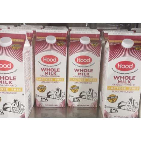 HOOD 無乳糖全脂強化鮮乳【Costco代購】【低溫宅配】 #657085