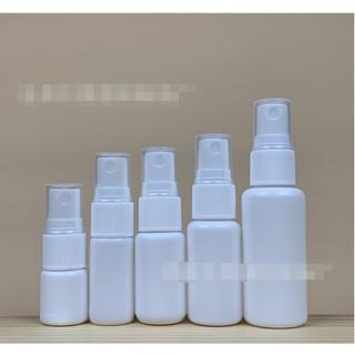 現貨 5ml 10ml 15ml 20ml 30ml噴霧瓶 塑膠小噴瓶 pe白色噴霧瓶