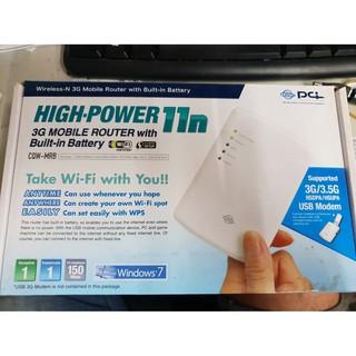 PCI 久森 CQW-MRB 3.5G 無線攜帶式 3G/ 3.5G 11n高速無線寬頻分享器 新北市