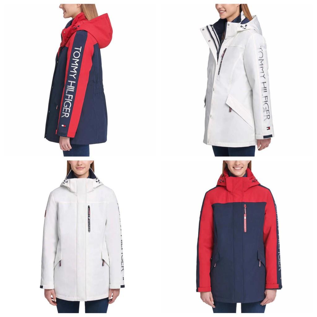 🇺🇸【現貨不用等!】Tommy Hilfiger 3-In-1 Systems Jacket 女士衝鋒衣 三合一禦寒外套