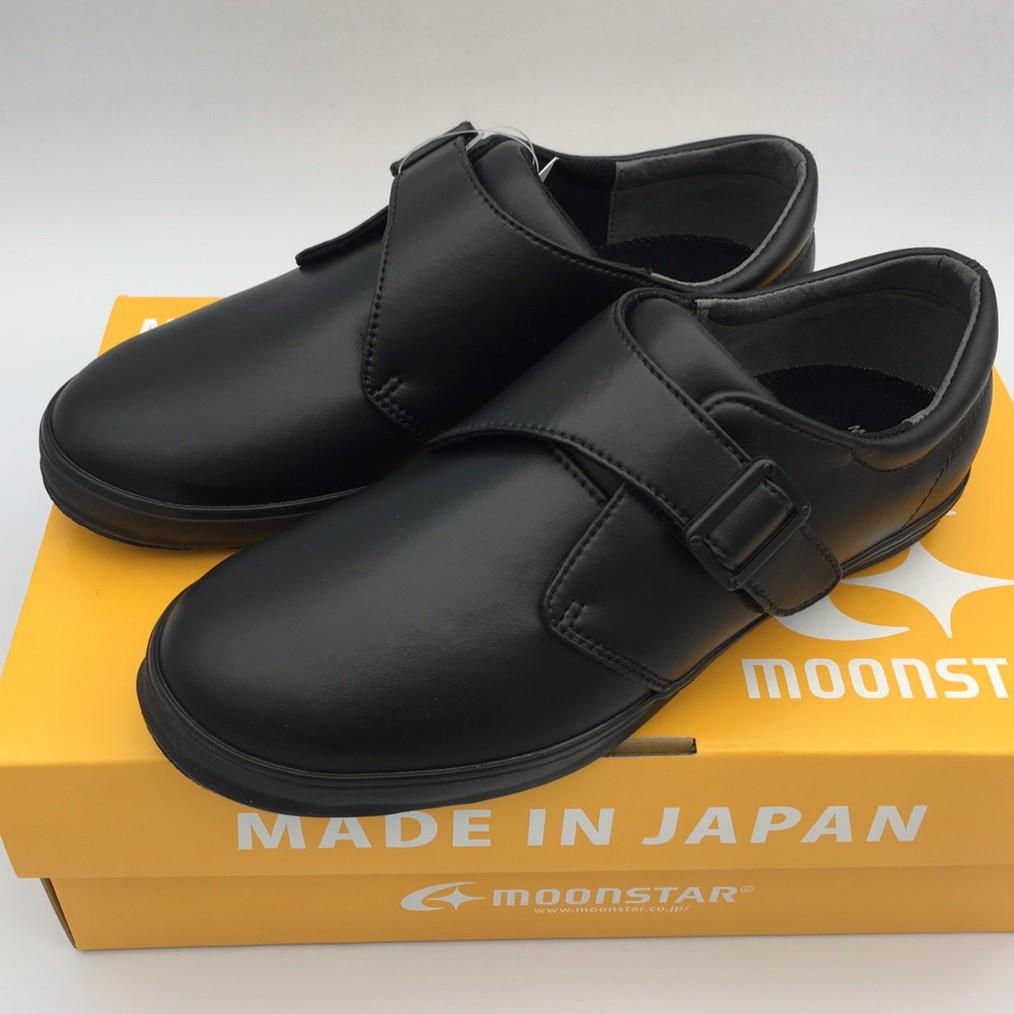 《日本Moonstar》日本製 黑皮鞋系列─中童段(17~23.0cm)M22246