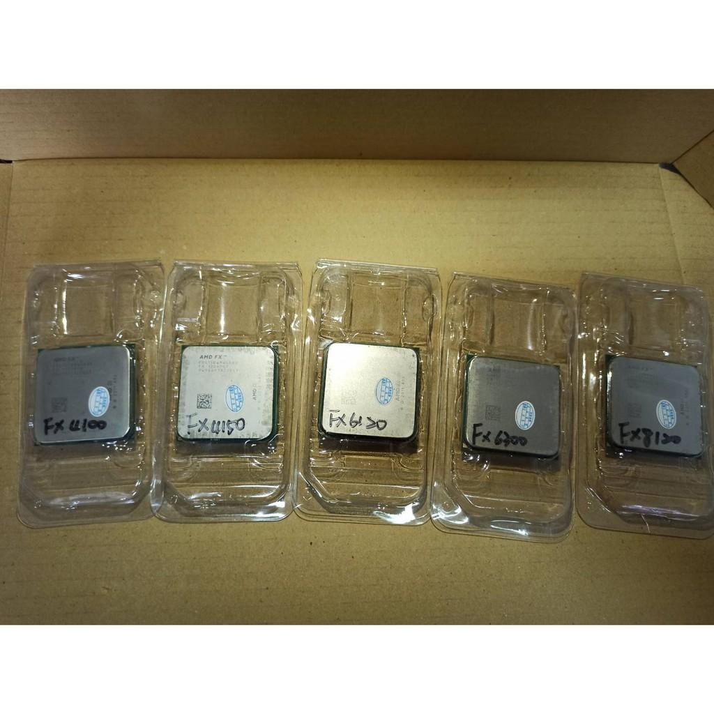 桌機CPU AMD FX-6300/FX-8100/FX-8120/FX-8320/E2-3200<二手良品>