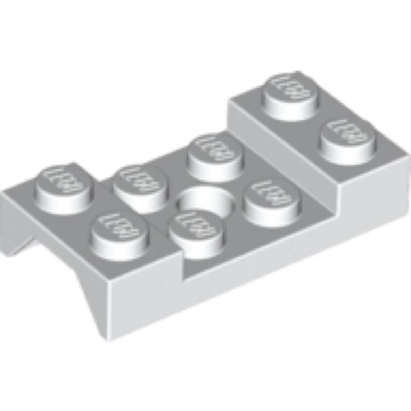 全新樂高 LEGO 白色輪拱 Vehicle Mudguard 2x4 Arch【60212】【4600181】