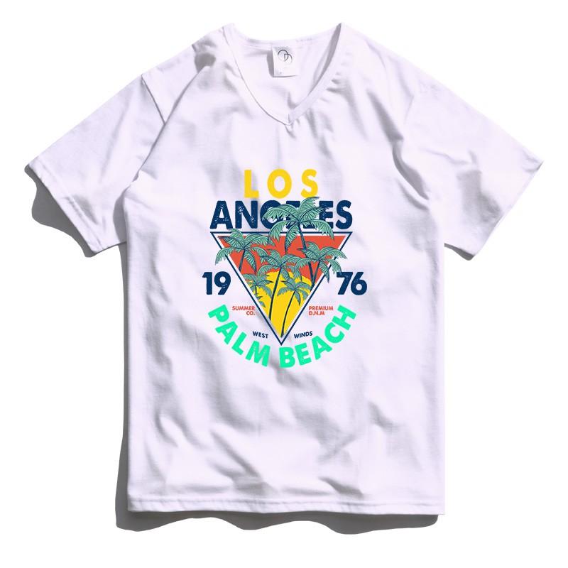 ONE DAY 台灣製 161C9 素V領素T 寬鬆衣服 短袖衣服 衣服 T恤 短T 素T 寬鬆短袖 短袖T恤