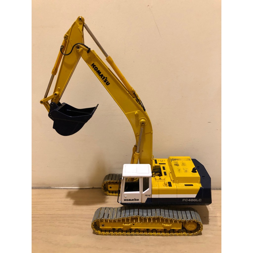 Komatsu 小松 PC400-5 五型車 1/32 1:32 挖土機 怪手 金屬 模型