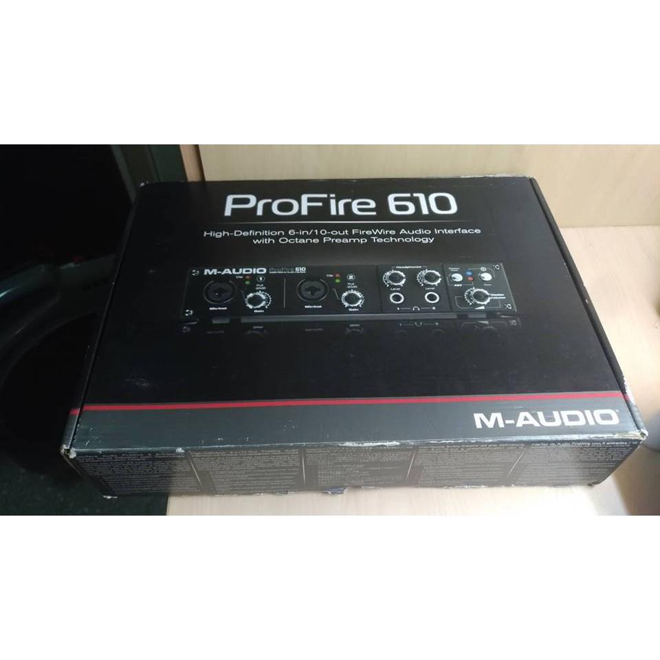 二手/ProFire 610 附盒書 免運 錄音卡 錄音介面
