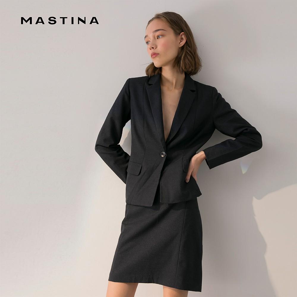 【MASTINA】質感剪裁西裝-外套(二色/版型適中)