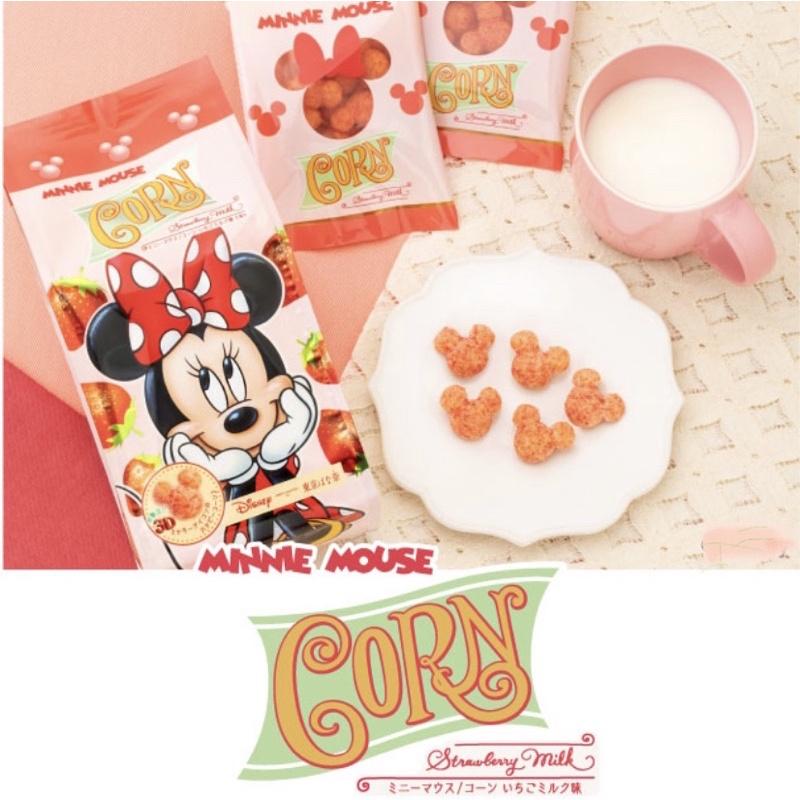 ::BonChu:: 「現貨」數量限定 TOKYO BANANA 東京芭娜娜 迪士尼 米妮 焦糖玉米脆果 草莓牛奶口味