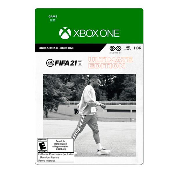 XBOX FIFA 21 終極版 / 中文版 / 數位下載版