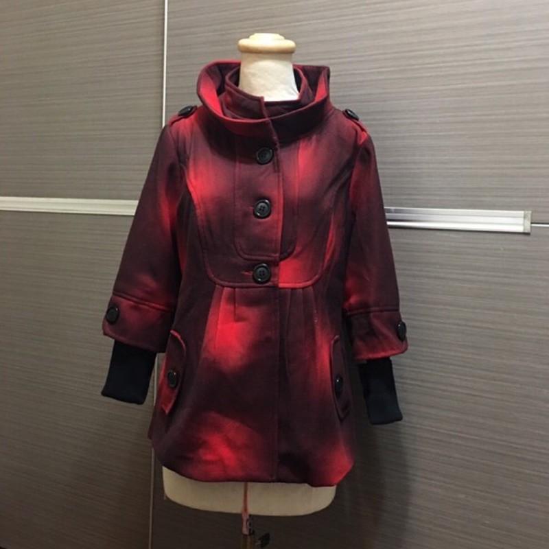 全新Mon's paris   假二件式外套
