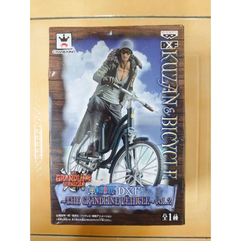 海賊王航海王金證青雉腳踏車dxf海軍上將大貨正版標準盒公仔