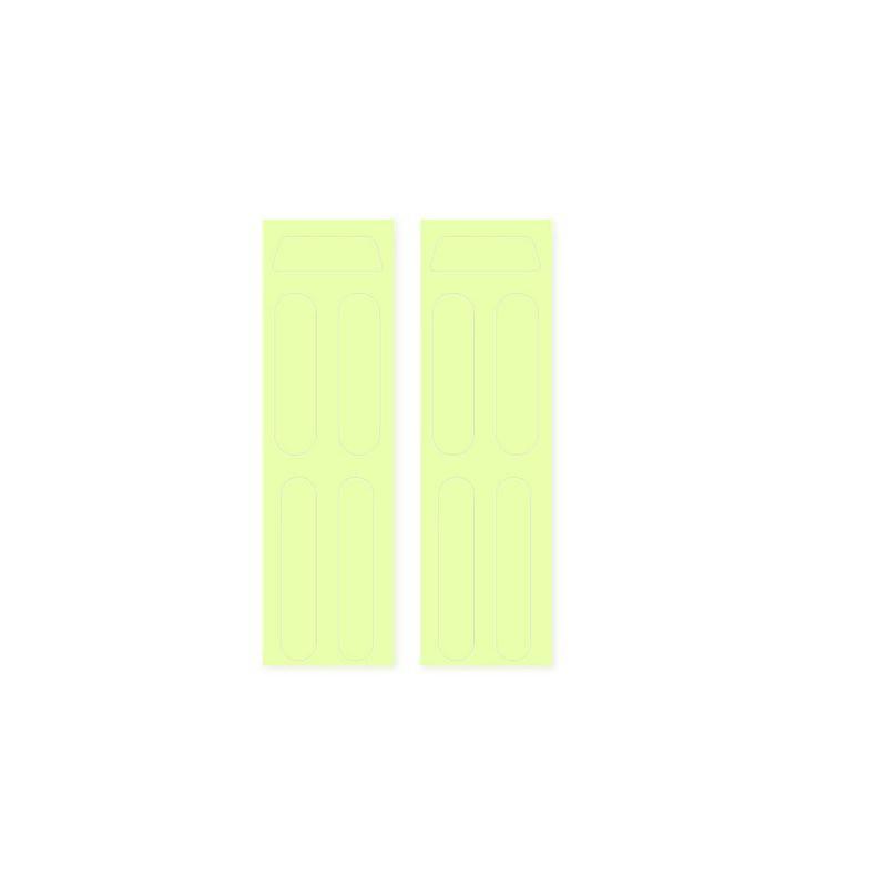 Hsv * 1 套 Dji Mavic Mini 發光貼紙夜間飛行發光裝飾貼紙