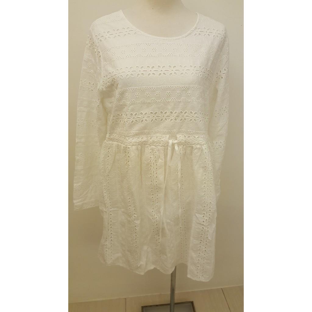白色娃娃洋裝