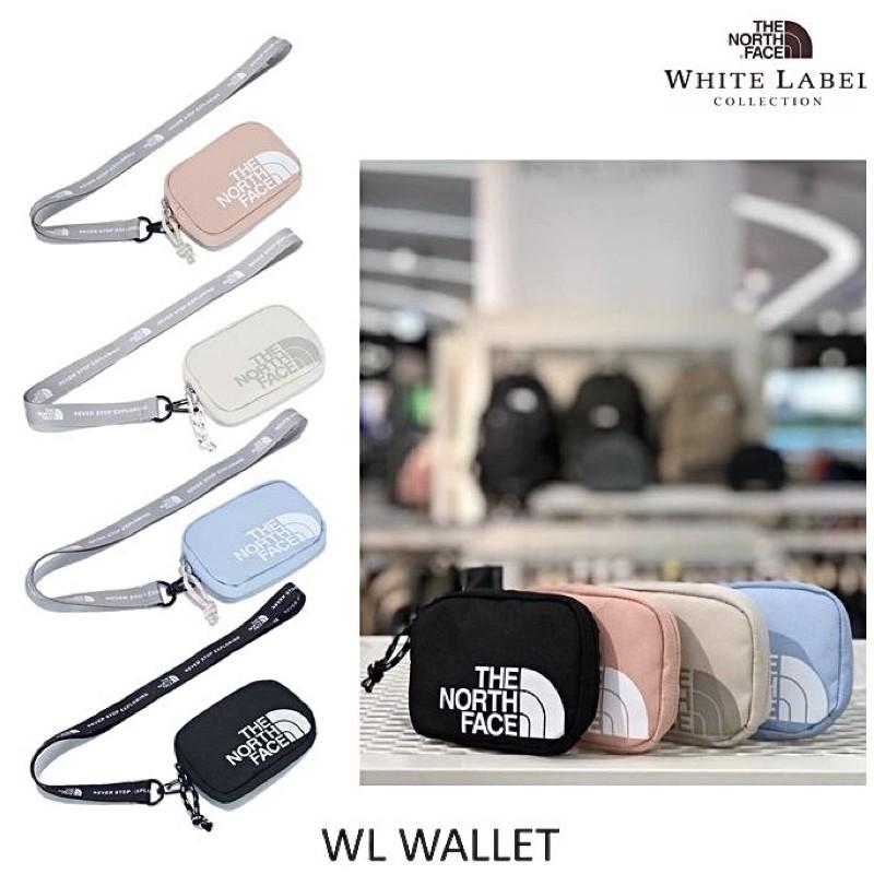 韓國業餘代購 The North Face WL WALLET北臉 證件帶 識別證帶 零錢包 吊飾 零錢袋 TNF 掛包