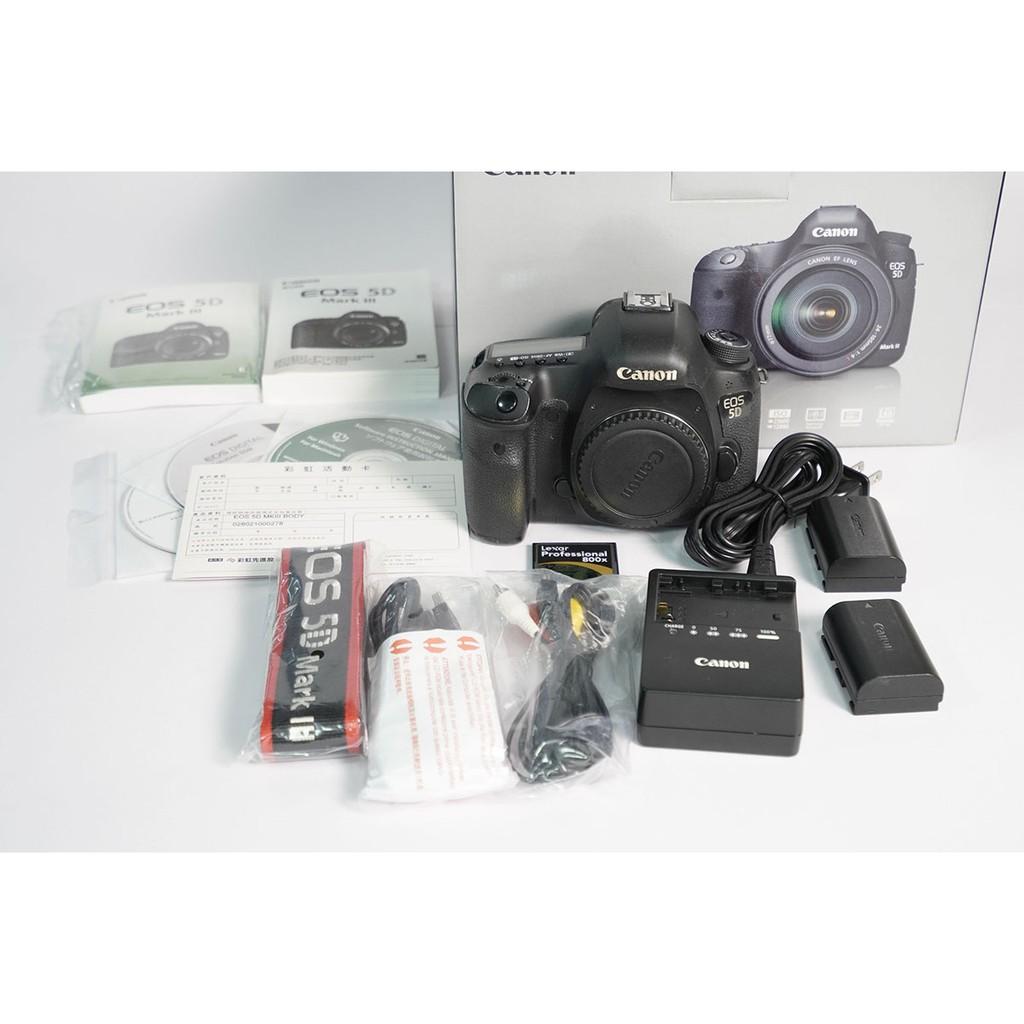 [攝手座二手器材]Canon 5D MARKIII -(A)單機身 5D3 快門270,998 公司貨過保 盒單齊