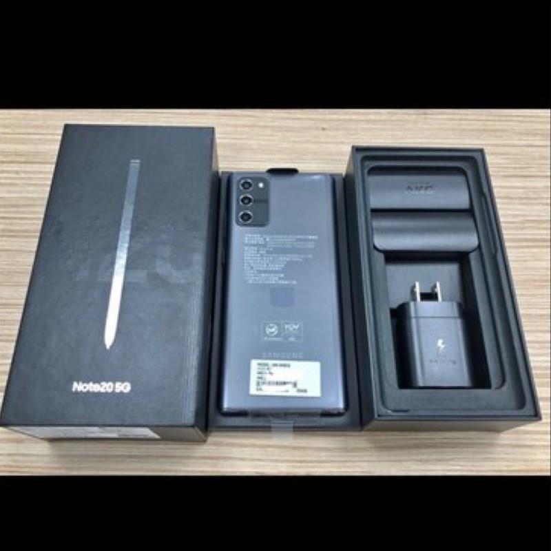 Samsung Note 20 8/256g 5G 星霧灰 保固至2021/9 二手 近全新 台中台北面交