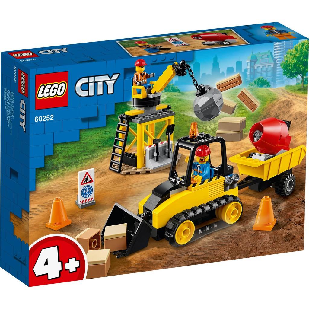 LEGO 樂高 60252 工程推土機