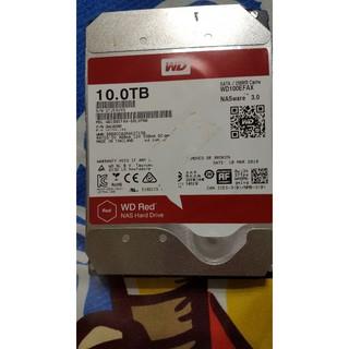 九成新 WD紅標3.5吋內接SATA nas 2TB/ 6TB/ 10TB(功能正常,無壞軌,無保固) 新北市