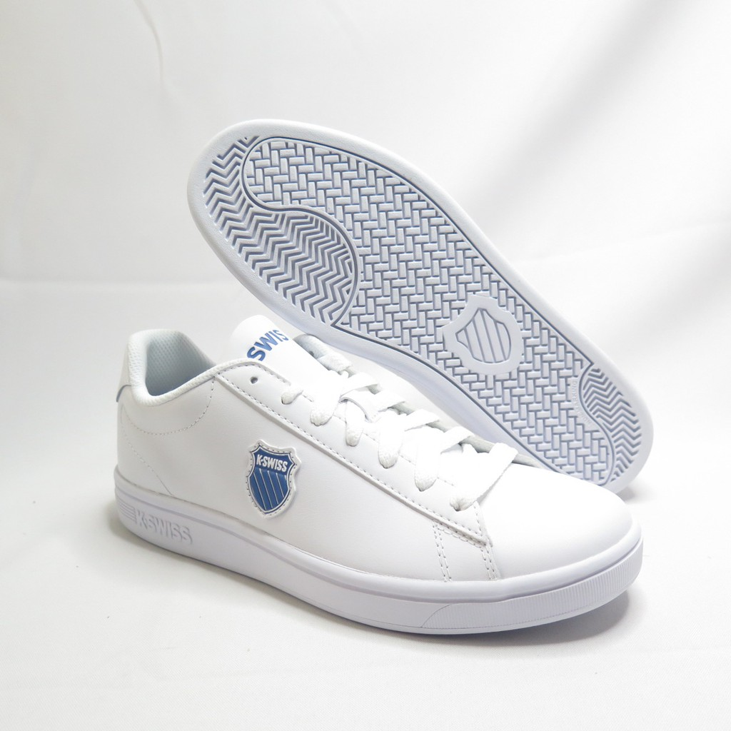 K-SWISS COURT SHIELD 休閒鞋 06599119 男款 白【iSport愛運動】