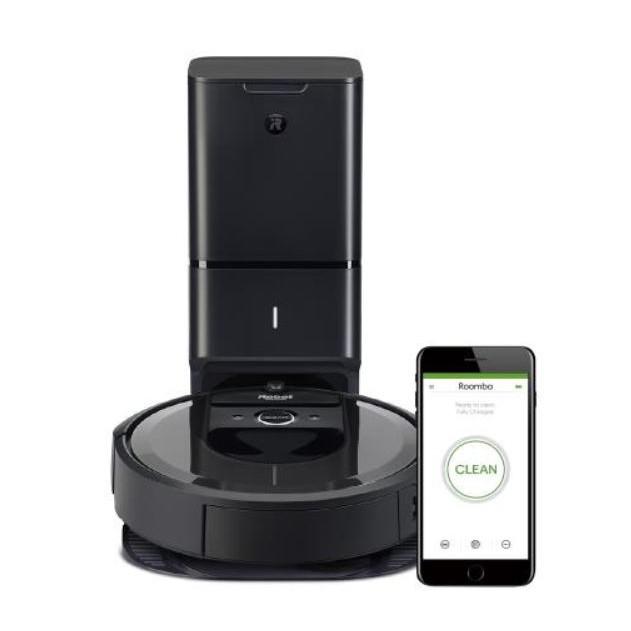 美國iRobot Roomba i7 掃地機器人 (AI路徑規劃智慧地圖wifi+客製化APP)