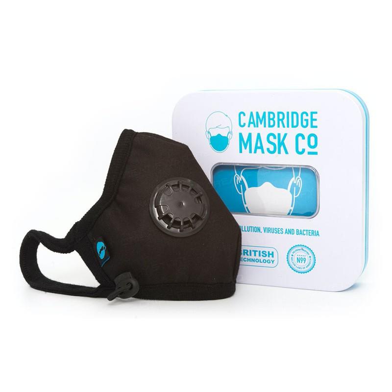《現貨》英國 Cambridge Mask Pro 軍用級 N99 級口罩 (可重用+可清洗)付可調頸帶 頭帶!超質感!