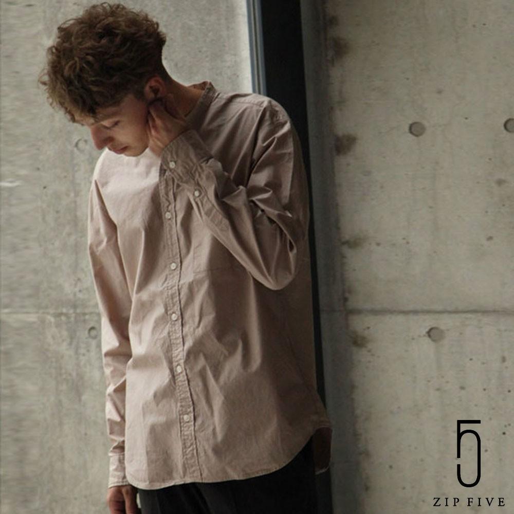 nilway 日本製立領長袖襯衫 共5色 ZIP 日版【28-115】
