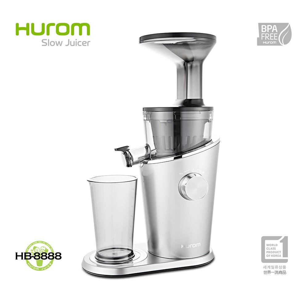 HUROM-慢磨蔬果機-HB-8888-周年慶送空氣清淨機 韓國 料理機 果汁機 攪拌機 榨汁機 冰淇淋機 研磨機