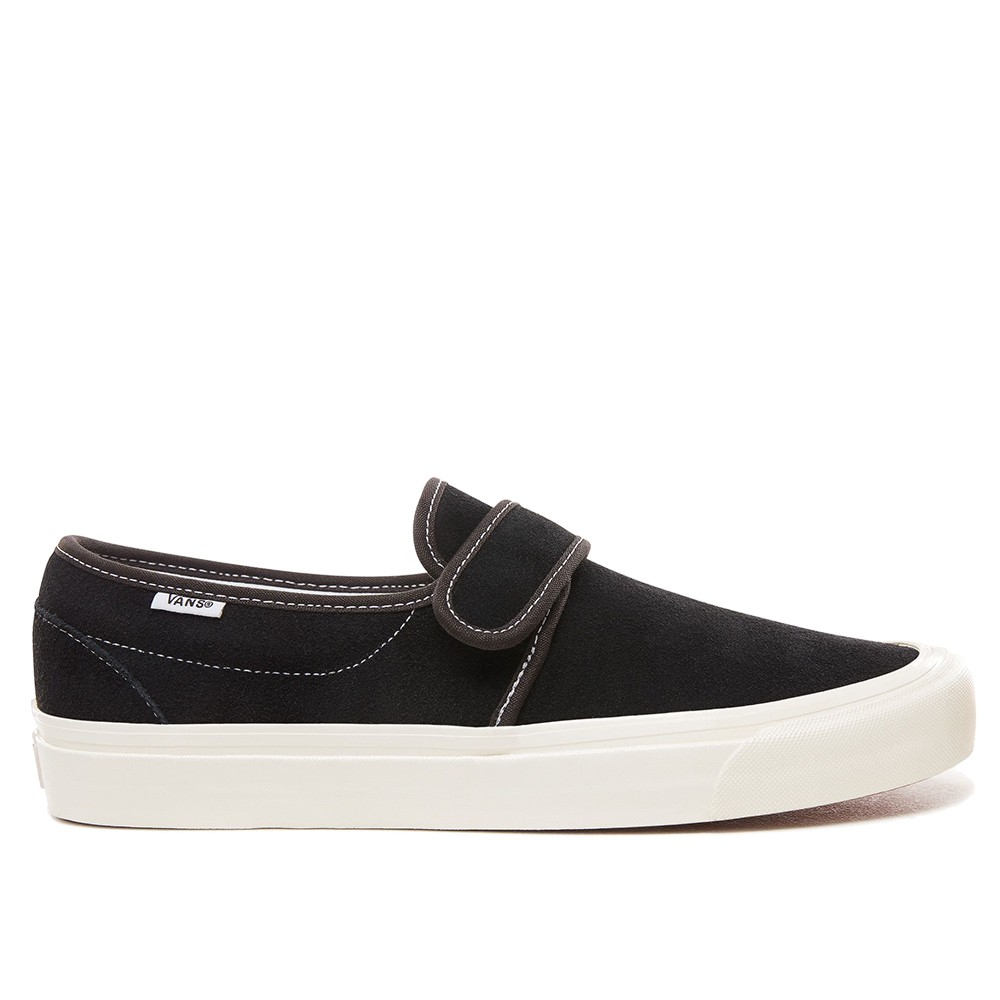 VANS SLIP-ON 47 V DX OG BLACK 麂皮 黑米白【A-KAY0】【VN0A3MVAUL1】