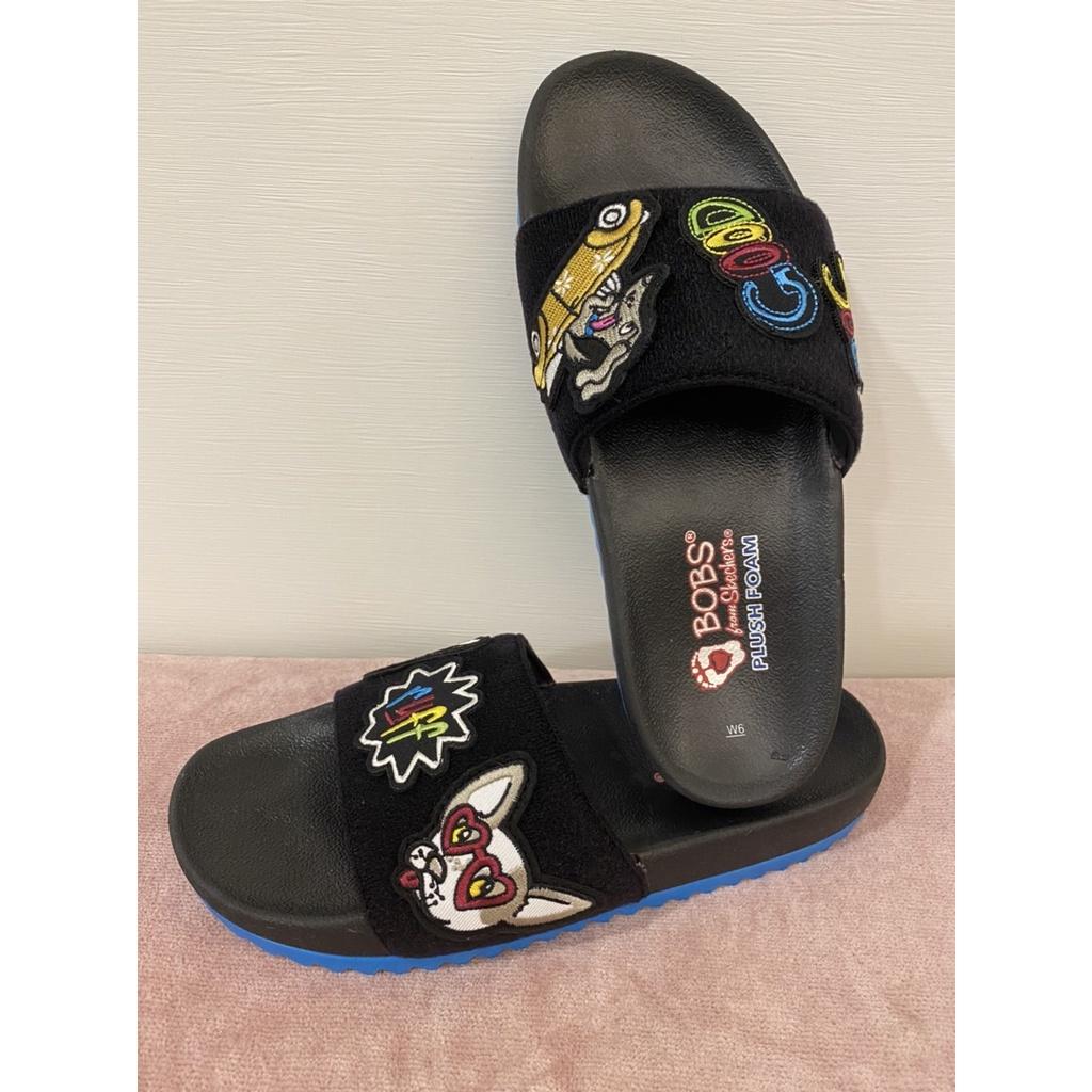 【Skechers】BOBS 涼拖鞋