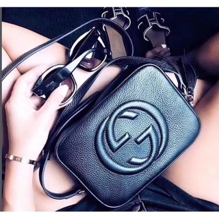 【小喵代購】Gucci 古馳soho Disco bag 308364 浮雕G流蘇斜背包 相機包 小方包 肩背包