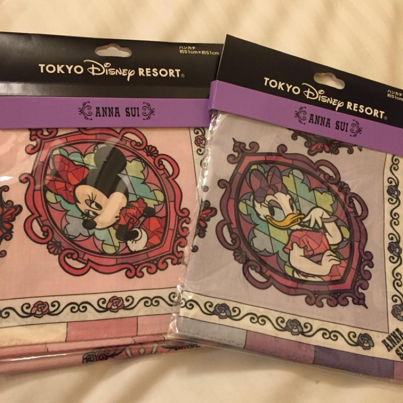 🦄️東京迪士尼🦄️「Anna Sui聯名絲巾」