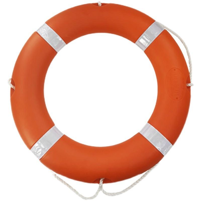 ☄✜☎救生圈大人兒童實心船用救生圈支架專業國標泡沫救生圈ccs認證1新款11