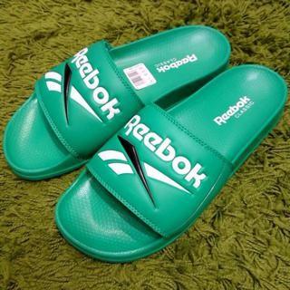 [現貨] Reebok Classic Slide 基本款 百搭 休閒 運動 下雨 海邊 外出 拖鞋 綠色 Dv9406