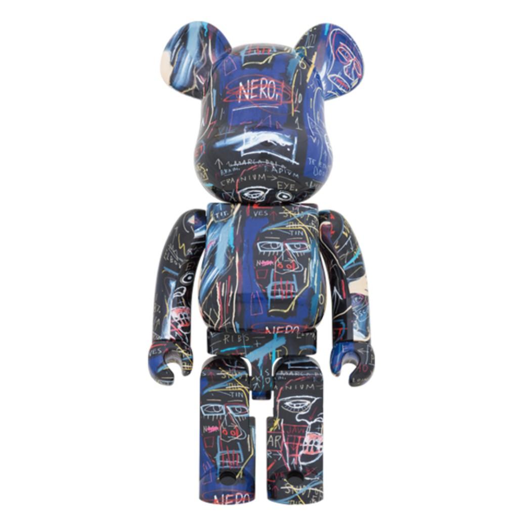 現貨 Be@rbrick 1000% Basquiat #7 巴斯奇亞 7代 聯名款 庫柏力克熊