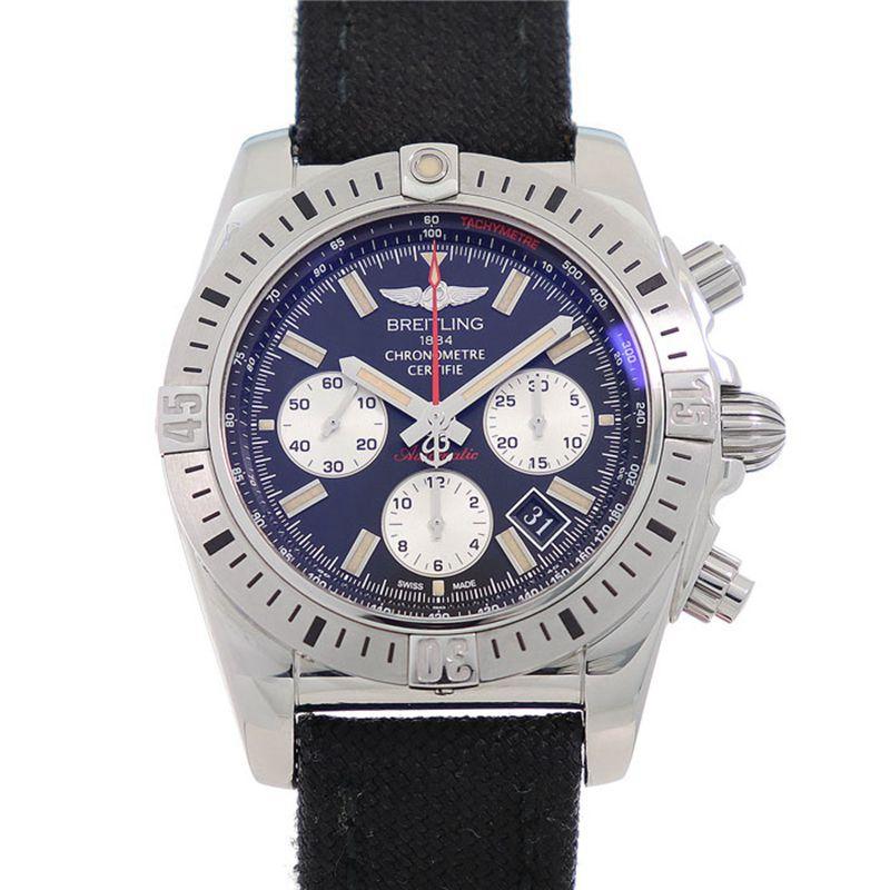 ◤奢侈手錶◢Breitling百年靈王牌飛行員男錶自動機械AB01154G瑞士錶原裝正品