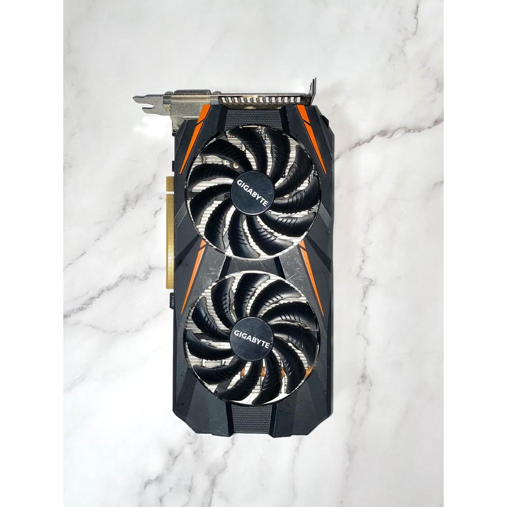 【黑科技電腦】技嘉GeForce® GTX 1060 WINDFORCE OC 6G 顯示卡 / 功能正常 / 卡況良好