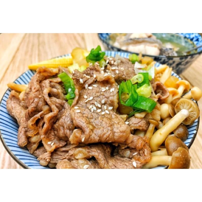 [君君]壽喜燒 醬燒 薑燒 豬肉片 500G/1KG/包  /好市多 Costco/雞塊/早午餐/批發/冷凍/炸物/即食