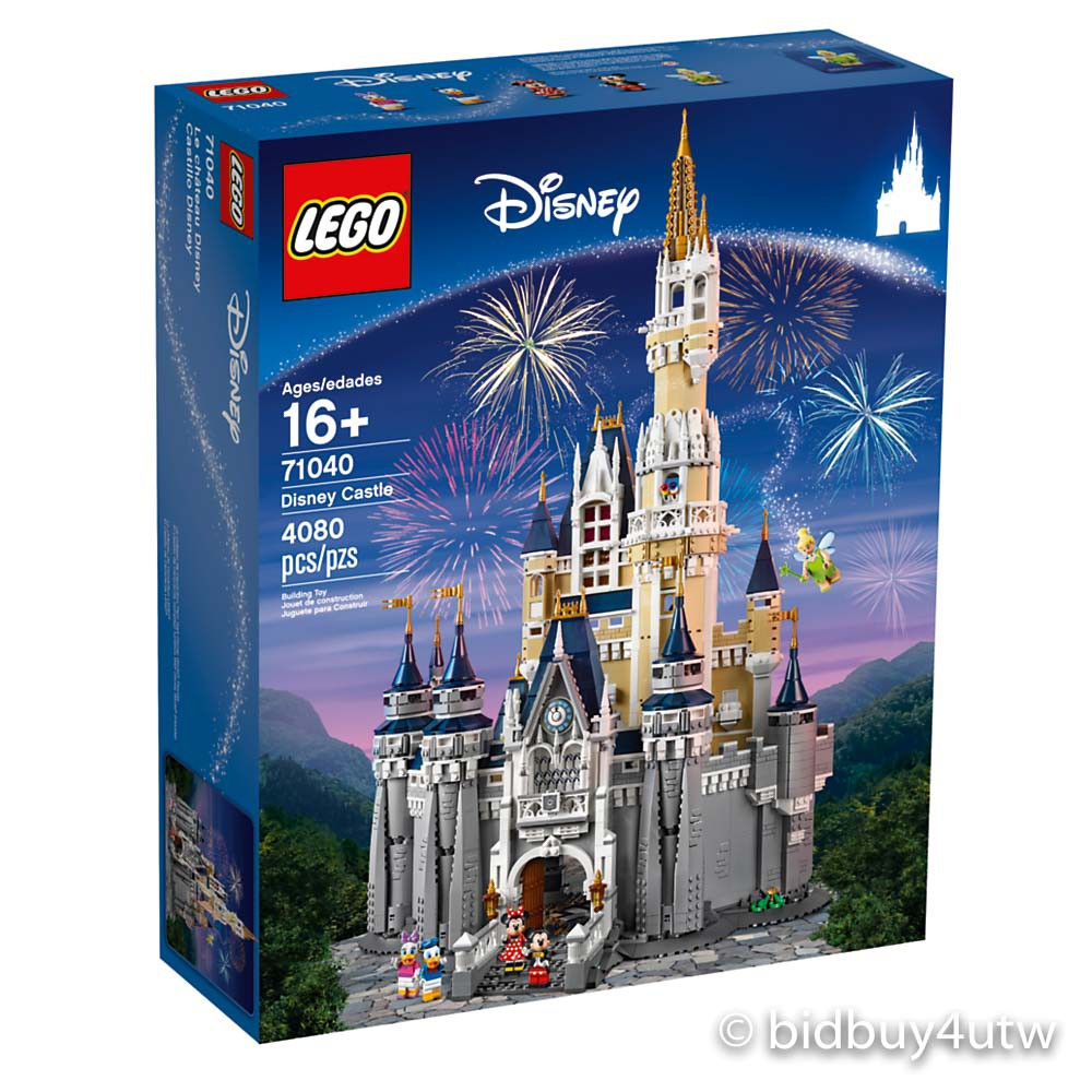 LEGO 71040 Disney Castle 樂高迪士尼系列【必買站】樂高盒組