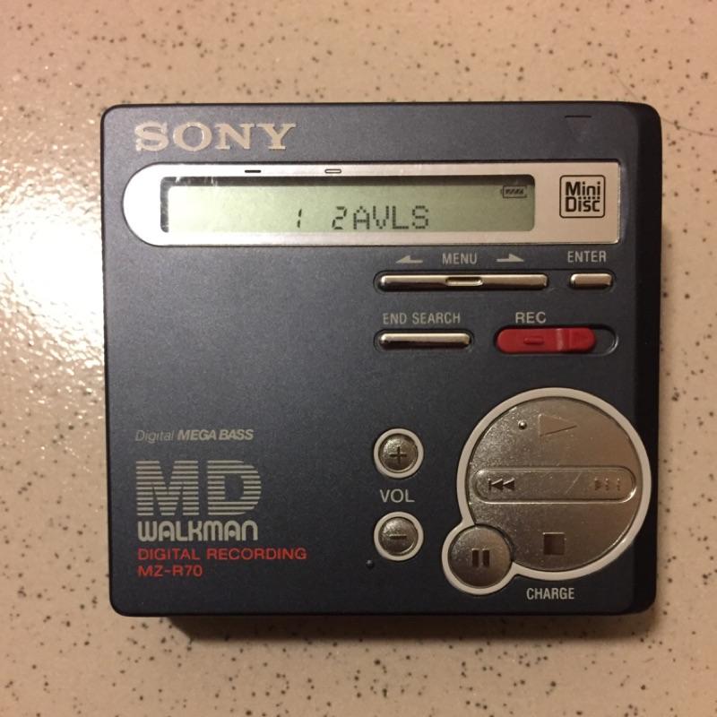 Sony MD音樂播放器 隨身聽