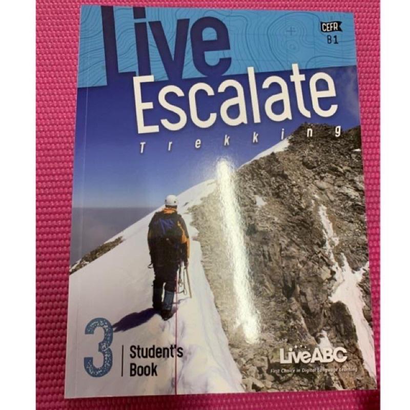 全新 live escalate 3 學生本 無光碟