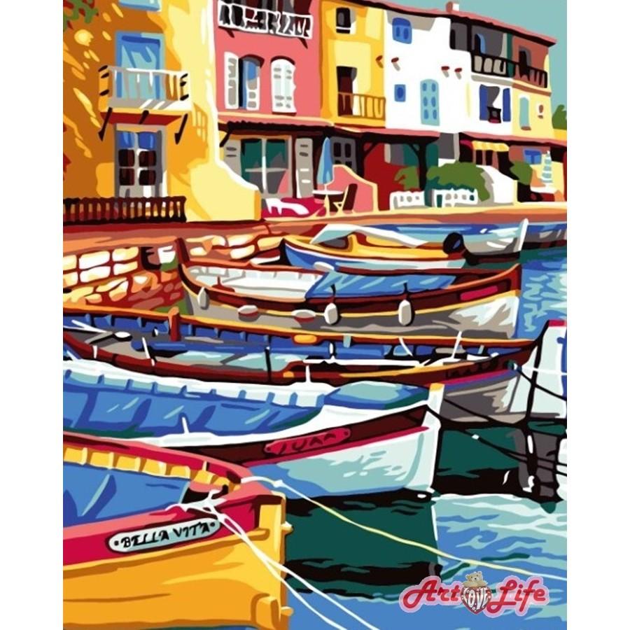ArtLife 藝術生活 現貨 DIY 數字 油畫 彩繪 86926 彩島布拉諾 40X50cm