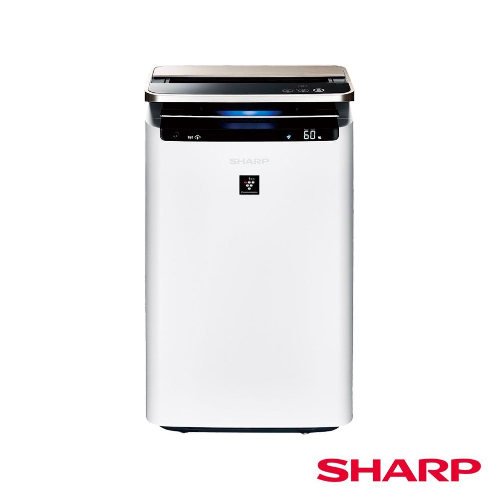 【夏普SHARP】23坪AIoT智慧水活力空氣清淨機 KI-J101T-W